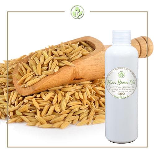 Rice Bran Oil in White PET Bottle