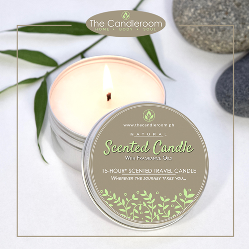 Soy Wax Travel Candle in aluminum can